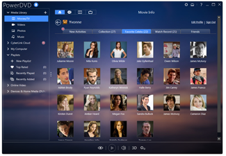 Movie database collect